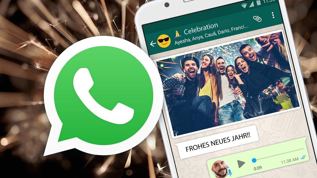 Whatsapp Video Neujahr