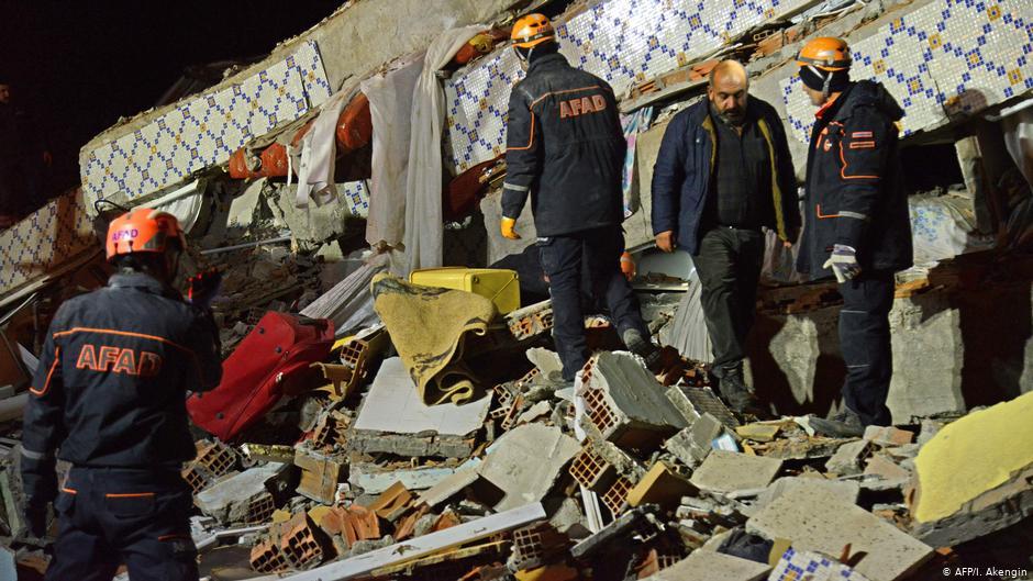 Starkes Erdbeben Türkei